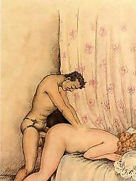 Vintage mature, Art, Mature porn