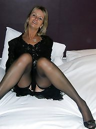 Sexy mature, Mature blonde, Stocking mature, Mature blond