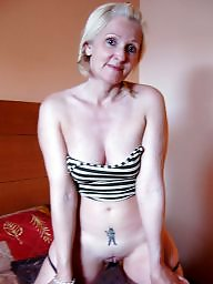 Short hair, Shorts, Short, Mature flashing, Blonde mature, Mature blonde