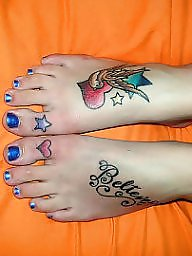 Feet, Tattooed, Tattoo
