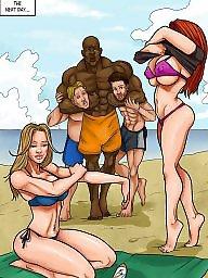 Interracial cartoons, Interracial cartoon, Cartoons, Cartoon interracial