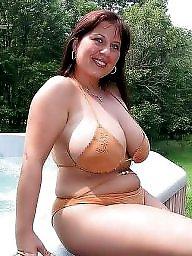 Bikini, Bbw beach, Curvy, Bbw bikini, Amateur bbw