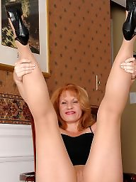 Stocking mature, Milf stockings, Mature milfs