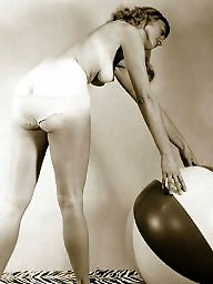 Lady, Balls, Amateurs, Vintage amateur, Ball, Vintage amateurs