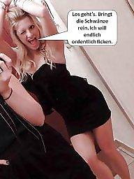 German, Captions, Funny, German captions, German caption, German amateur