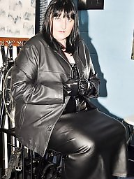 Boots, Latex, Pvc, Leather, Mature porn, Mature boots