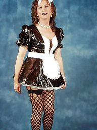 Pvc, Maid, Black, Maids