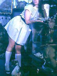 Retro, White panties, Vintage panties, Vintage bdsm