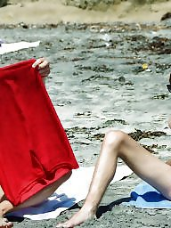 Man, Voyeur beach