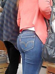 Jeans, Latin ass, Cam, Ass latin