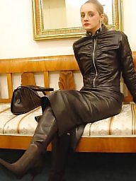 Latex, Boots, Leather, Pvc, Mature boots, Mature pvc