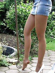 Legs, Leggings, Upskirt stockings, Long legs