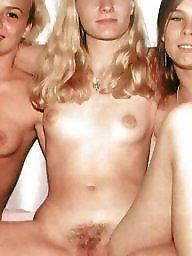 Vintage, Natural, Hairy vintage, Natural tits
