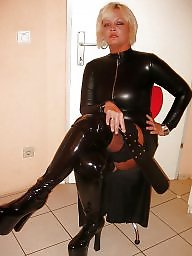 Latex, Pvc, Mature pvc, Mature leather, Moms, Leather