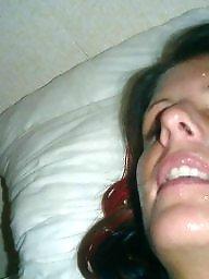 Milf, Facial, Facials, Blowjobs, Milf facial
