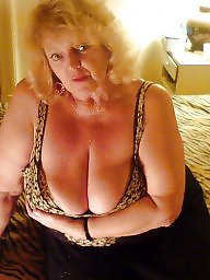 Granny, Bbw granny, Cleavage, Big granny, Granny boobs, Granny bbw