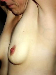 Nipples, A bra, Milf tits, Exposed