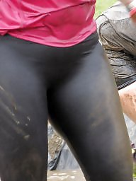 Cameltoe, Wet, Legs, Wetting