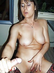 Facial, British mature, Mature facial, Facials, Mature milf, Mature slut