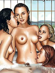 Lesbian, Lesbians, Celebrity, Star