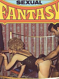 Blowjob, Fantasy, Magazines, Magazine, Hairy vintage