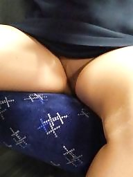 Home, Train, Voyeur upskirt