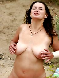 Saggy, Saggy tits, Outdoor, Saggy tit, Beach tits