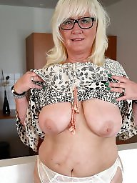 Glasses, Mature glasses, Mature big boobs, Glasses mature