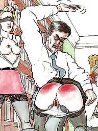 Panties, Bdsm cartoon, Panty, White panties, Cartoon bdsm, Comix
