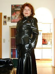 Latex, Boots, Pvc, Leather, Mature boots, Mature leather