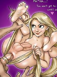 Toons, Cartoons, Fingering, Lesbian cartoon