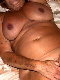 Amateur granny, Horny