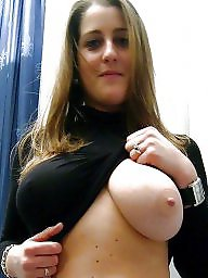 Nipple, Face, Faces, Amateur big tits
