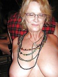 Glasses, Topless, Amateur big tits