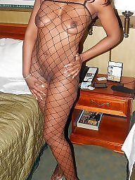 Fishnet, Ebony stockings, Black stocking