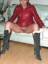 Mature, Femdom, Leather, Pvc, Bbw femdom, Prostitute