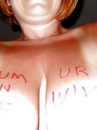 Milfs tits, Big amateur tits