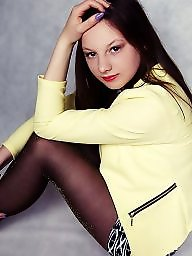 Pantyhose, Polish, Feet, Pantyhose feet, Young amateur, Amateur pantyhose
