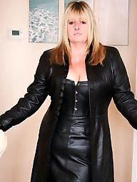 Leather, Mature leather, Mature porn