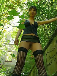 German, Wet, Wetting, German milf, German amateur, Horny milf