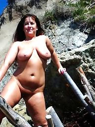 Mature public, Public mature, Public boobs, Public matures