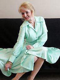 Vintage, Dress, Skirt, Upskirts, Dressing, Milf upskirt