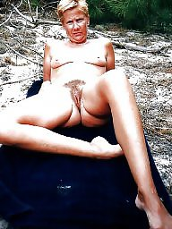 Outdoor, Mature outdoor, French, Mature outdoors, French mature, Exposed