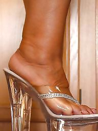 Heels, High heels, Bbw mature amateur