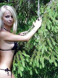Hot blond, Nude teen