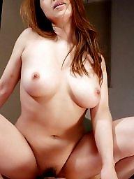 Japanese, Japanese milf, Asian milf, Asian tits