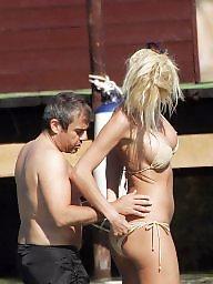 Bikini, Celebrity, Caught, Bikini milf