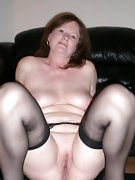 Uk milf, Uk mature, Milf stockings