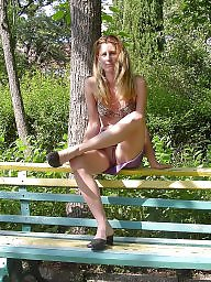 Public, My wife, Public flash, Wife flashing, Public amateur