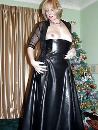 Mom, Latex, Leather, Moms, Amateur mom, Mature latex